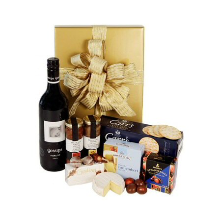 Gourmet Wine And Cheese Hamper